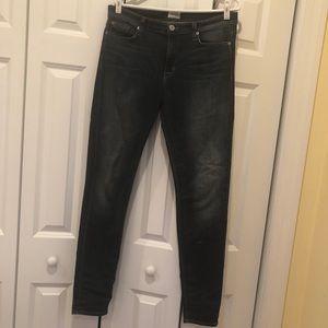 Hudson Jeans Nico Midrise Super Skinny, 32, Epic